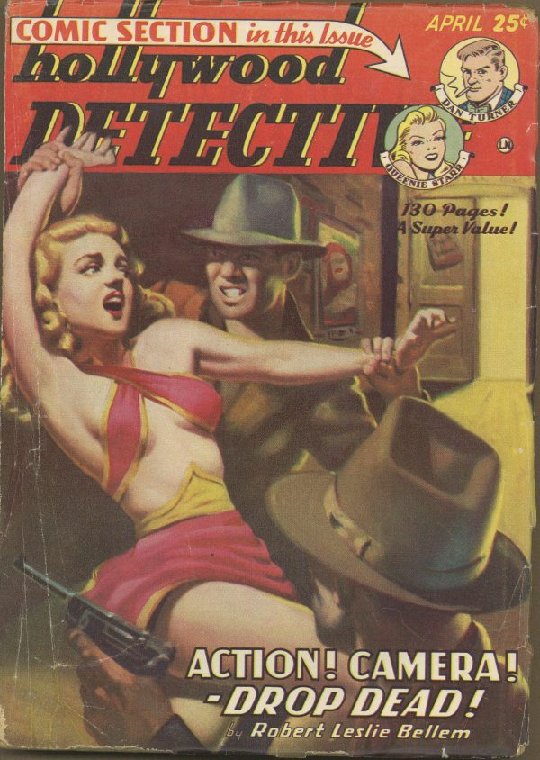 Hollywood Detective April 1950