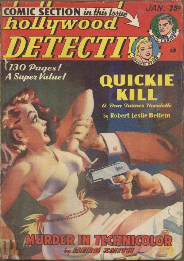 Hollywood Detective January 1950