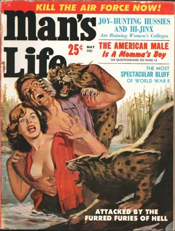Man's Life May 1959