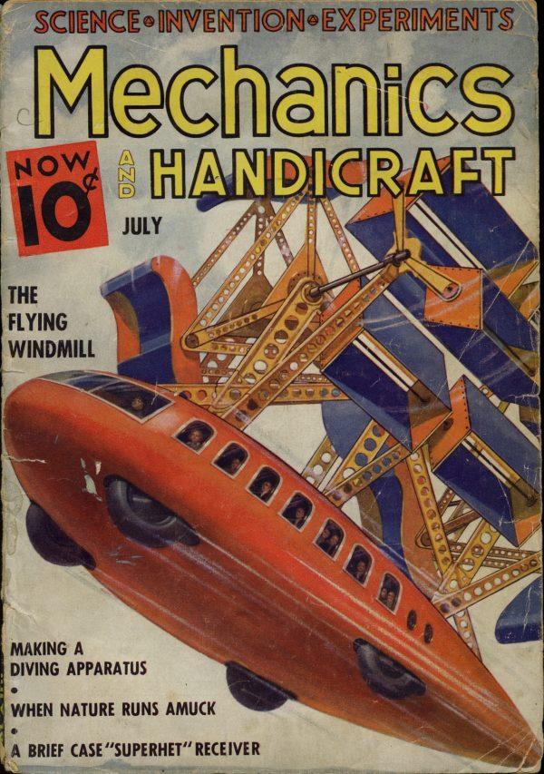 Mechanics And Handicraft July 1937