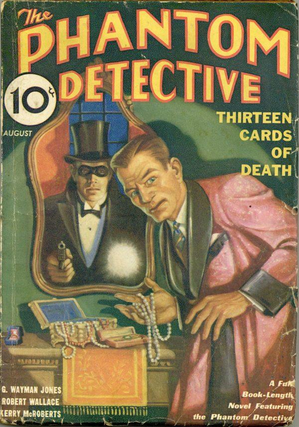 Phantom Detective August 1933