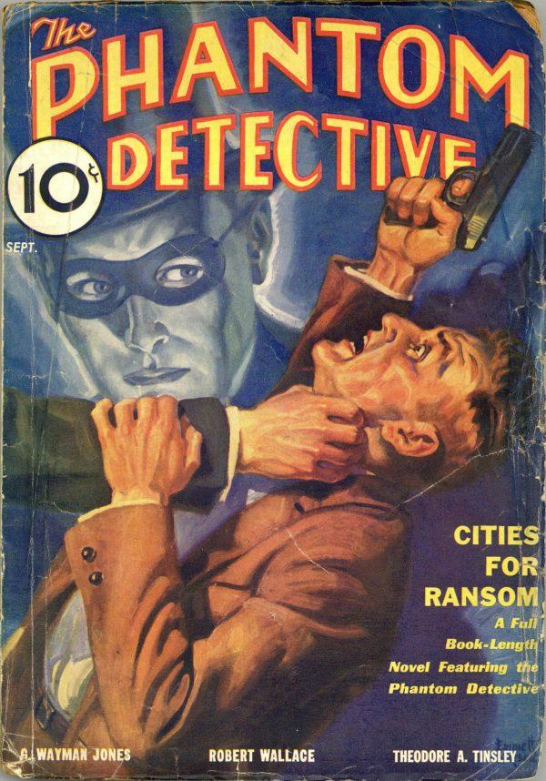 Phantom Detective September 1933
