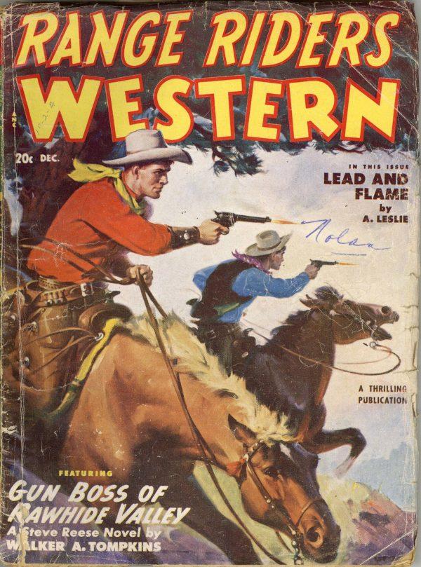 Range Riders Western December 1950