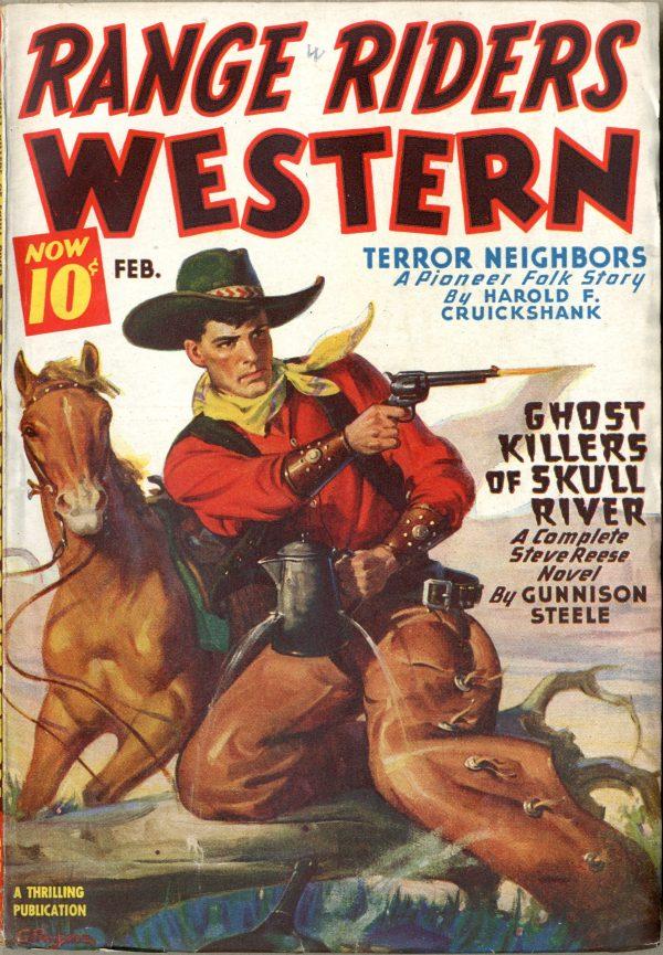 Range Riders Western February 1946
