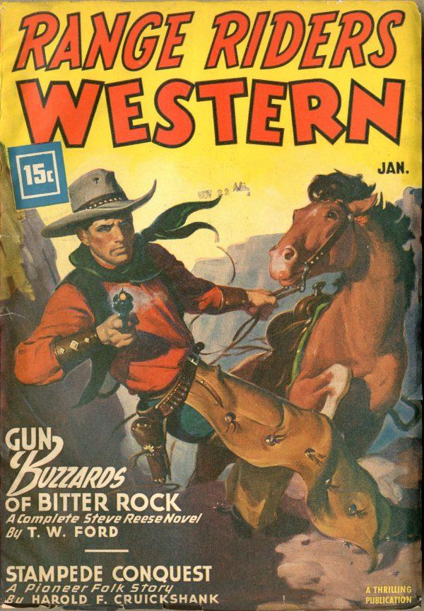 Range Riders Western January 1947