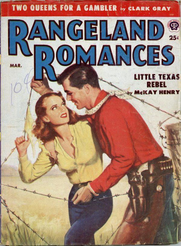 Rangeland Romances March 1953