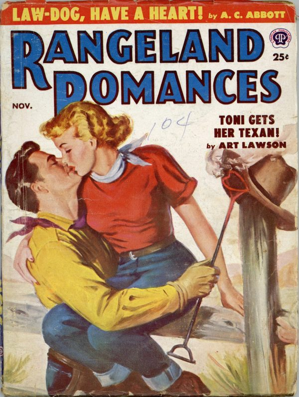Rangeland Romances November 1952