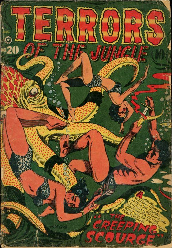 Terrors of the Jungle #20