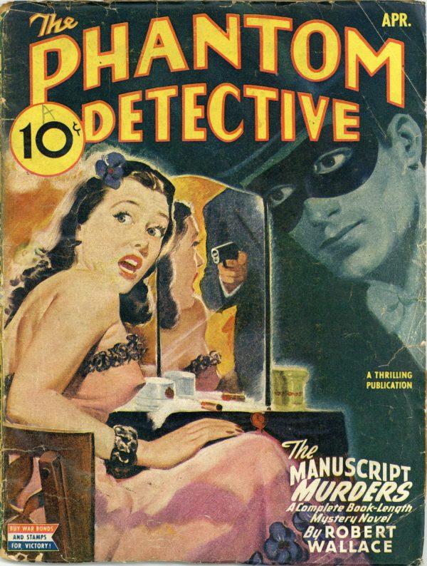 The Phantom Detective April 1945