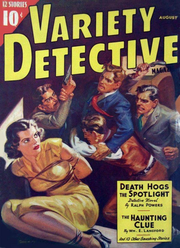 Variety Detective Magazine August 1938