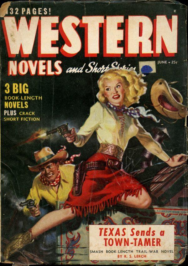 Western Novels June 1949