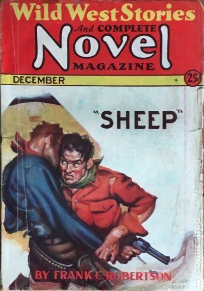 Wild West Stories December 1931