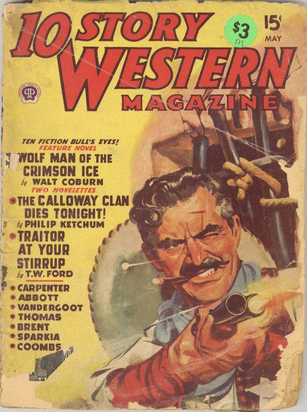 10 Story Western Magazine May 1949