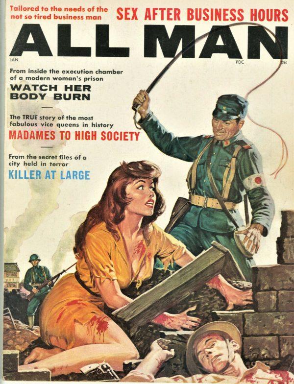 All Man Magazine January 1962