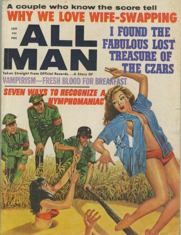 All Man Magazine January 1966
