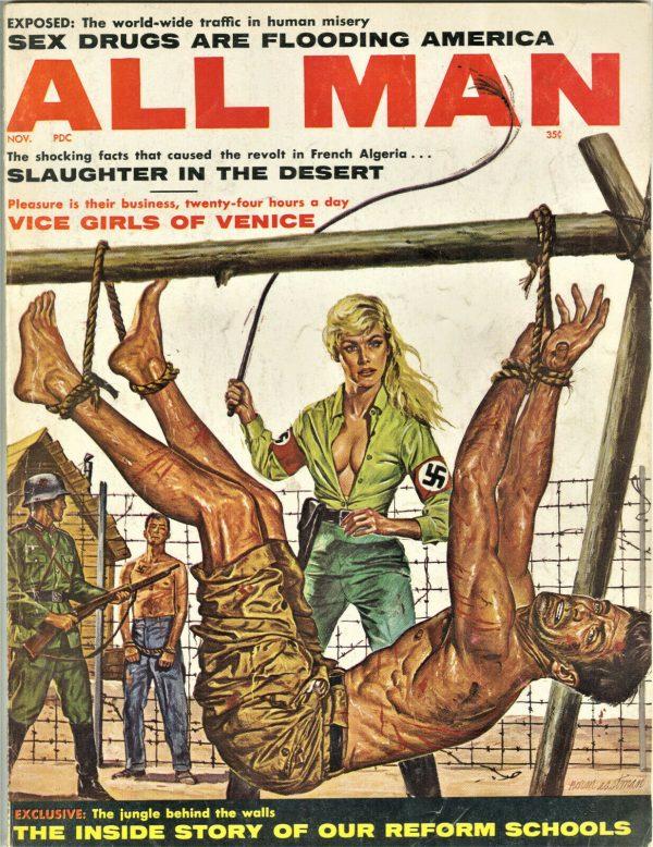 All Man Magazine November 1961