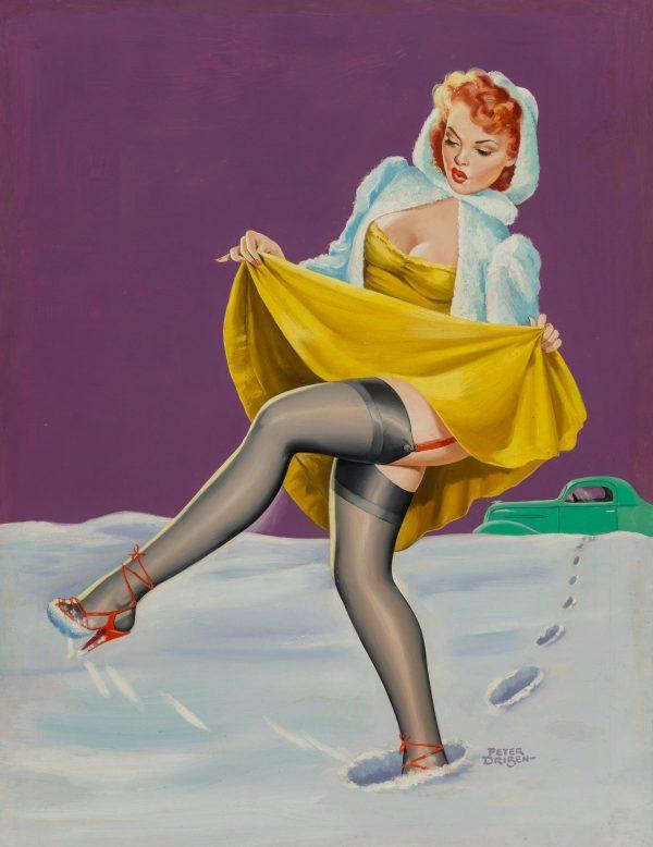 Deep Snow, Wink magazine cover, February 1951