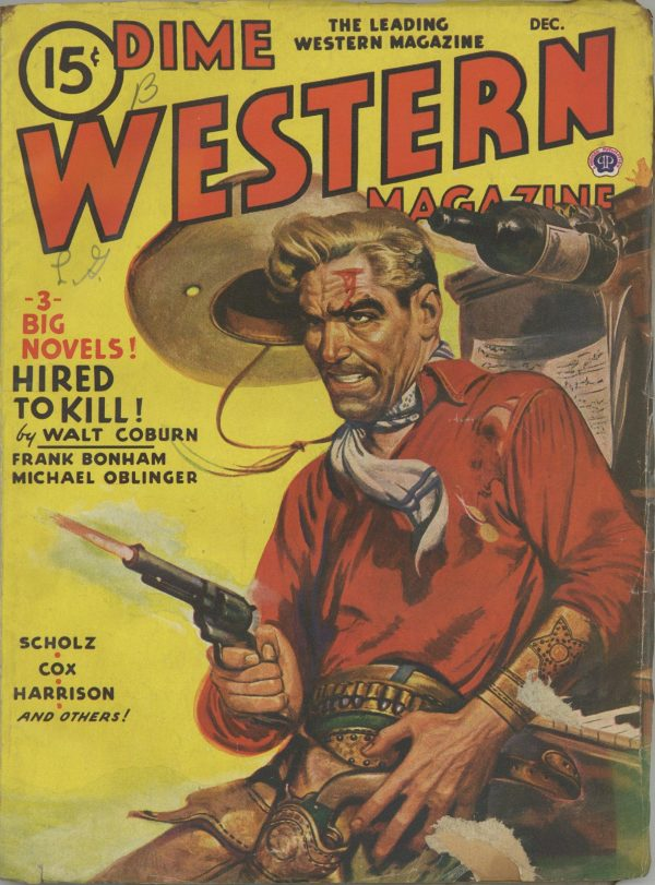 Dime Western Magazine December 1945