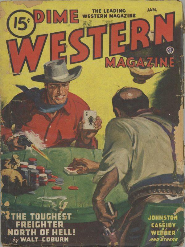 Dime Western Magazine January 1947
