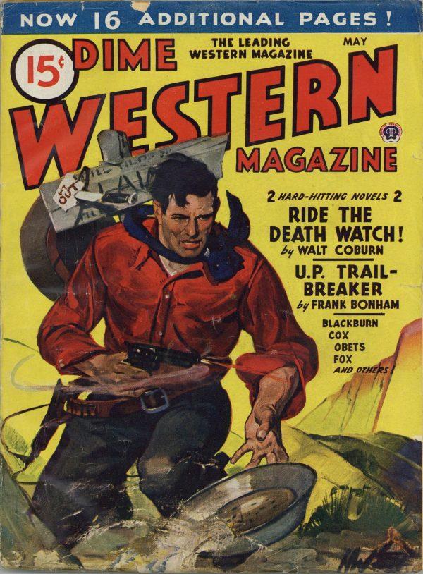Dime Western Magazine May 1945