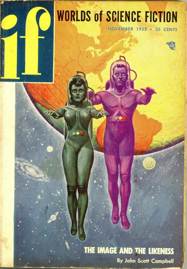 If Worlds of Science Fiction November 1952