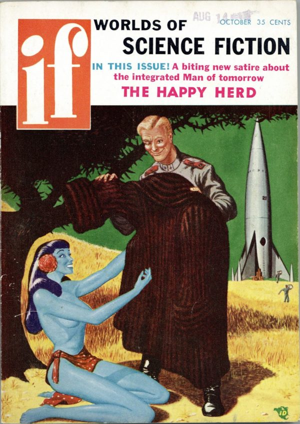 If Worlds of Science Fiction October 1956