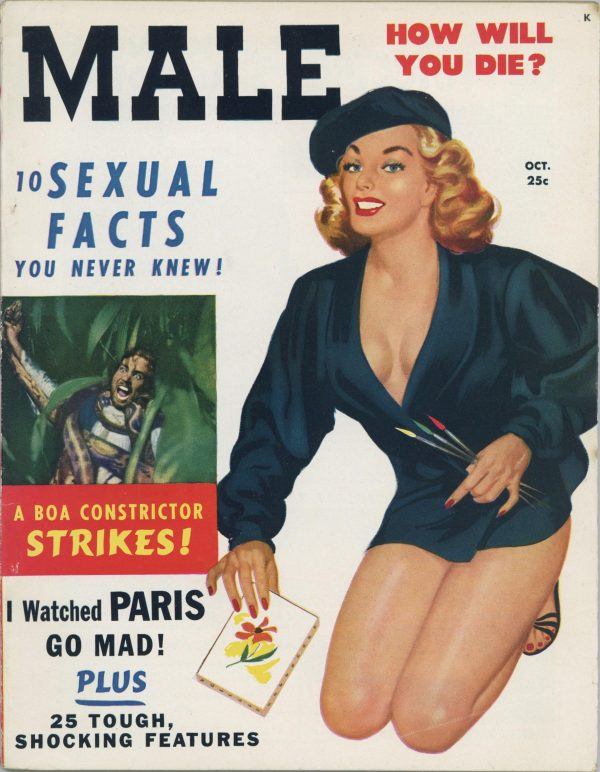 Male Magazine October 1950