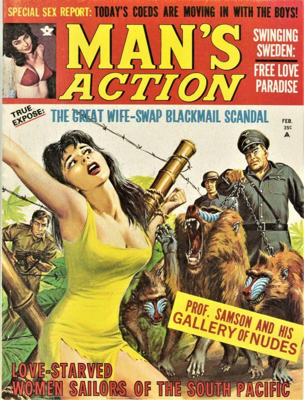 Man's Action Magazine January 1970