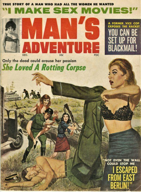 Man's Adventure Magazine 1964 December