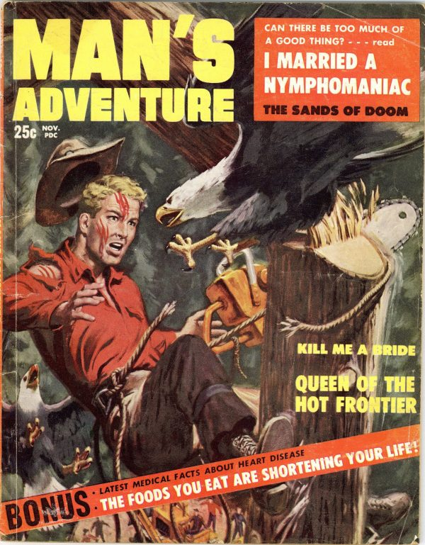 Man's Adventure November 1957