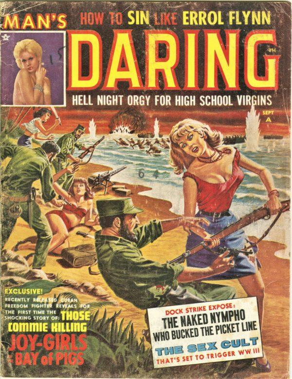 Man's Daring Magazine September 1963