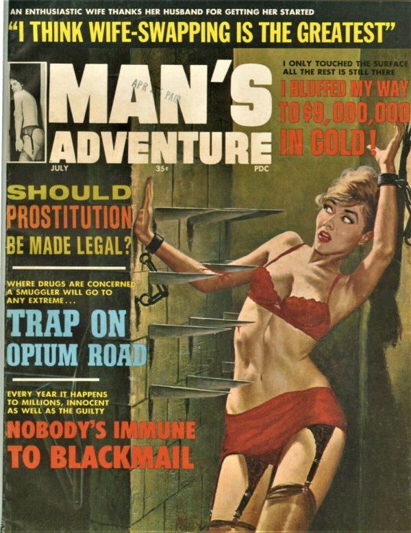 Man's Life Magazine July 1965