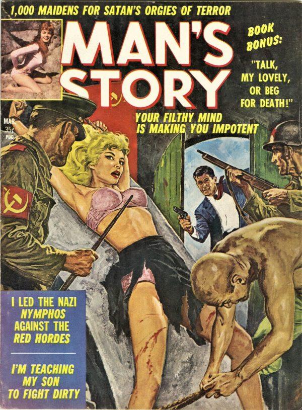 Man's Story Magazine July 1961