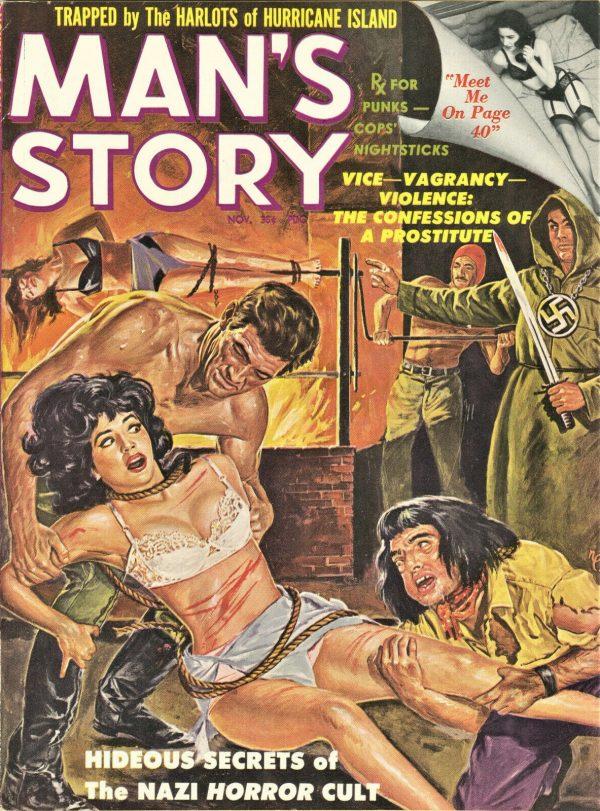 Man's Story Magazine November 1961