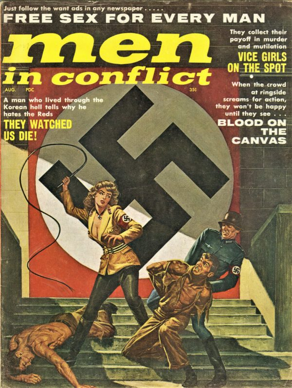 Men In Conflict Magazine August 1961