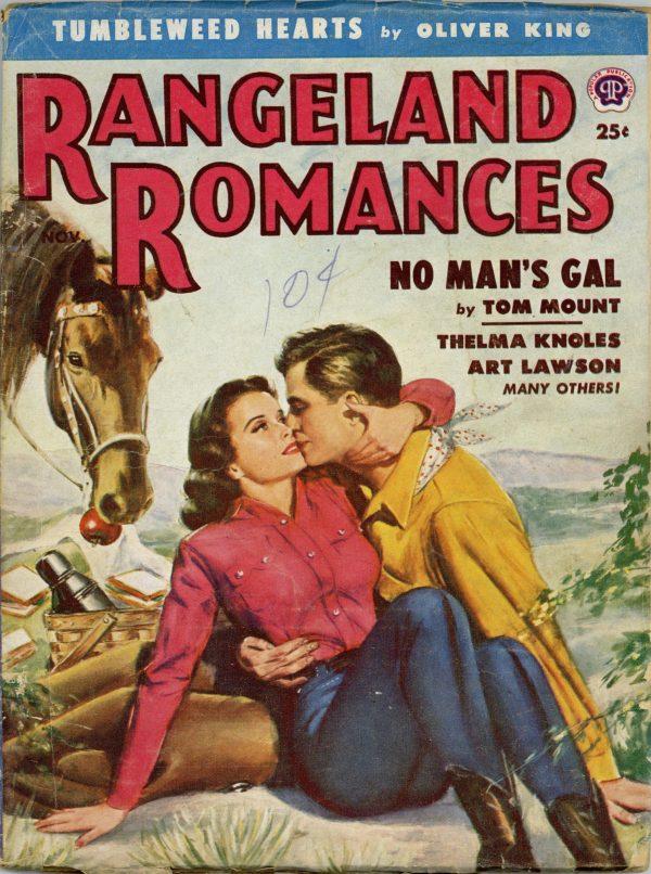 Rangeland Romances November 1953