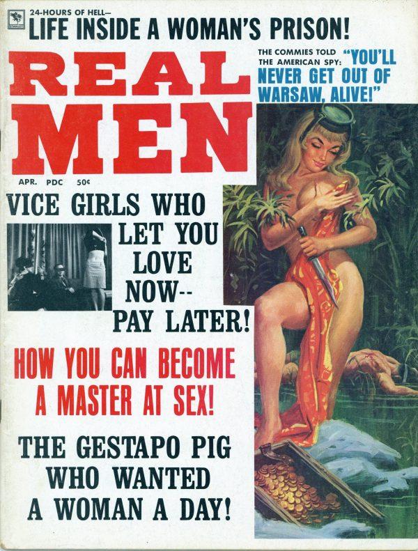 Real Men Magazine April 1970