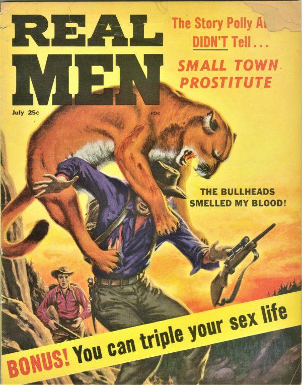 Real Men Magazine July 1963