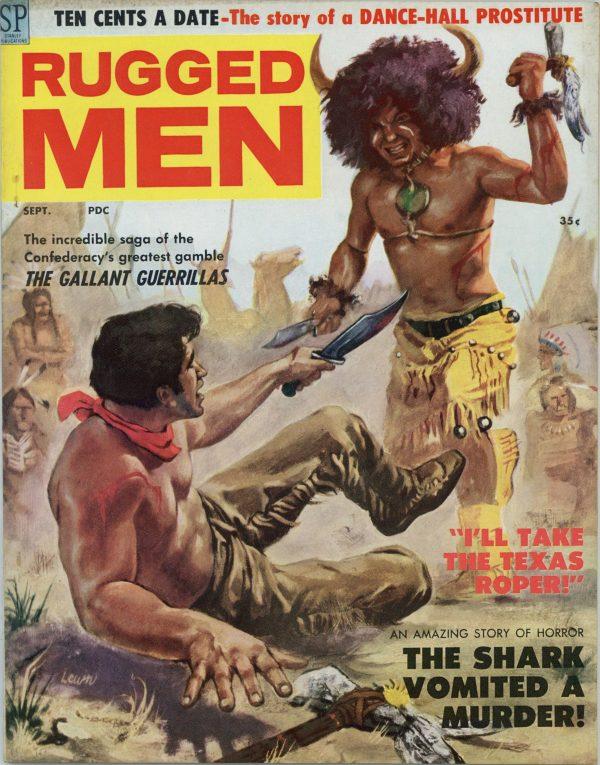 Rugged Men September 1958