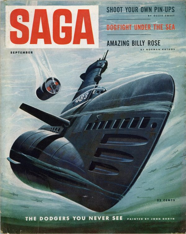 Saga Magazine September 1953