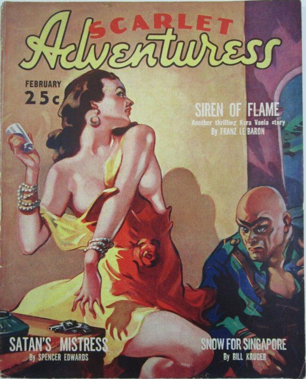 Scarlet Adventuress February 1938