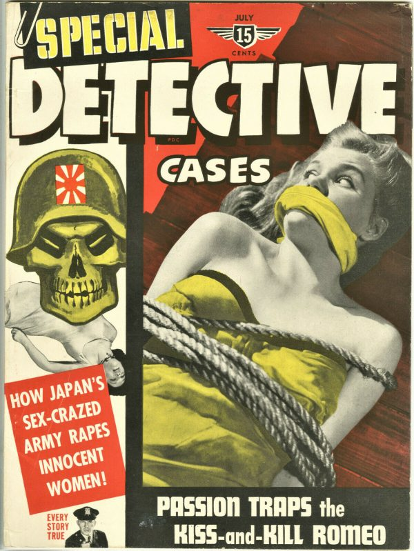 Special Detective Cases Magazine July 1942