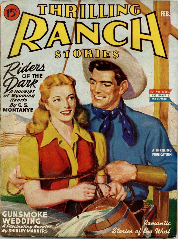 Thrilling Ranch Stories February 1945