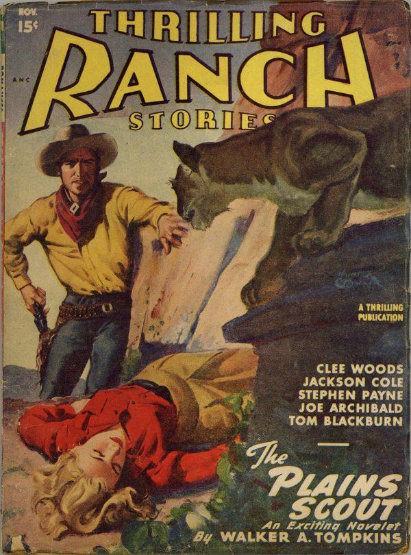 Thrilling Ranch Stories November 1947