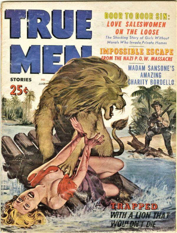 True Men Magazine June 1960