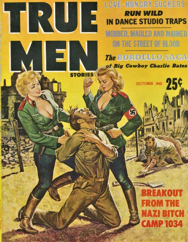 True Men Magazine October 1959