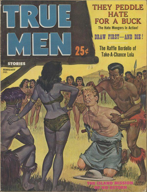 True Men Stories February 1961