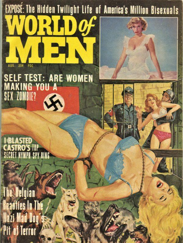 World of Men Magazine August 1964